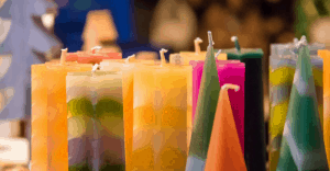 collection of candles