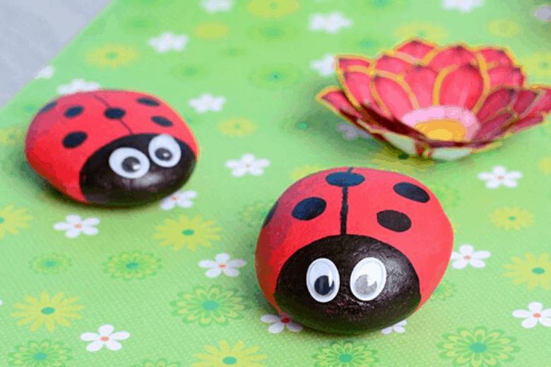 Ladybird Rocks.
