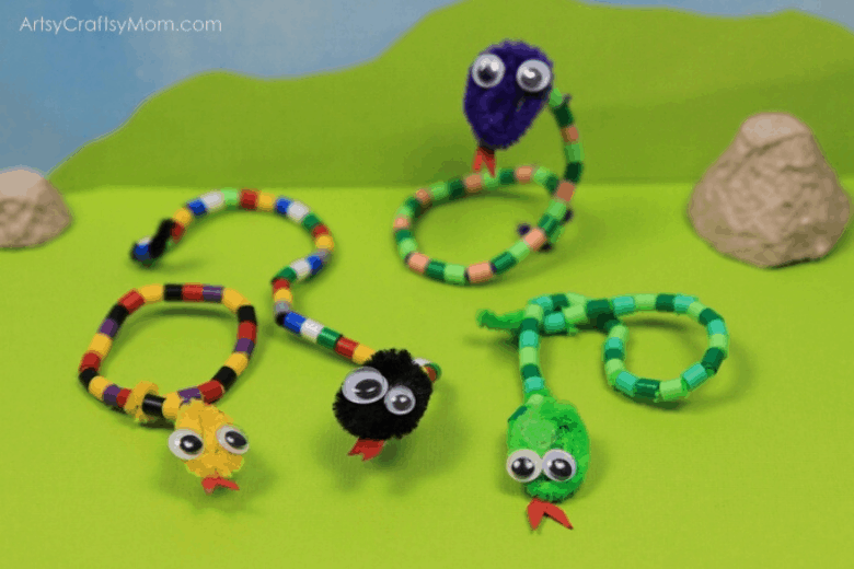Pipecleaner necklaces