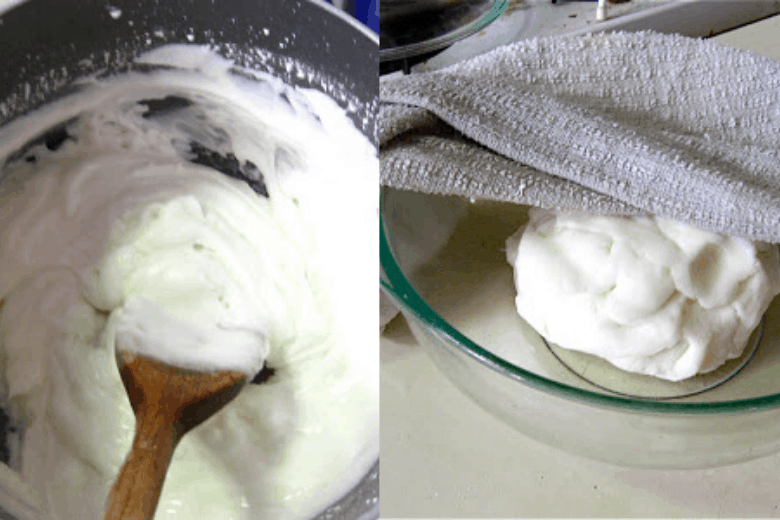 baking soda clay.