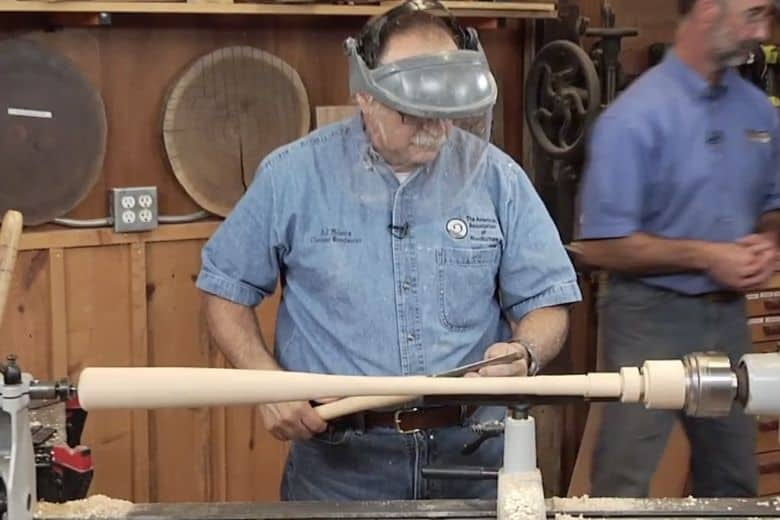 Woodturned Baseball bat