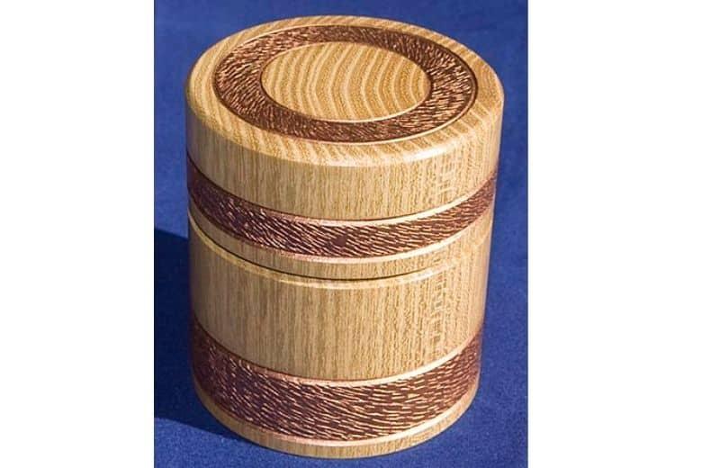 Woodturned Box