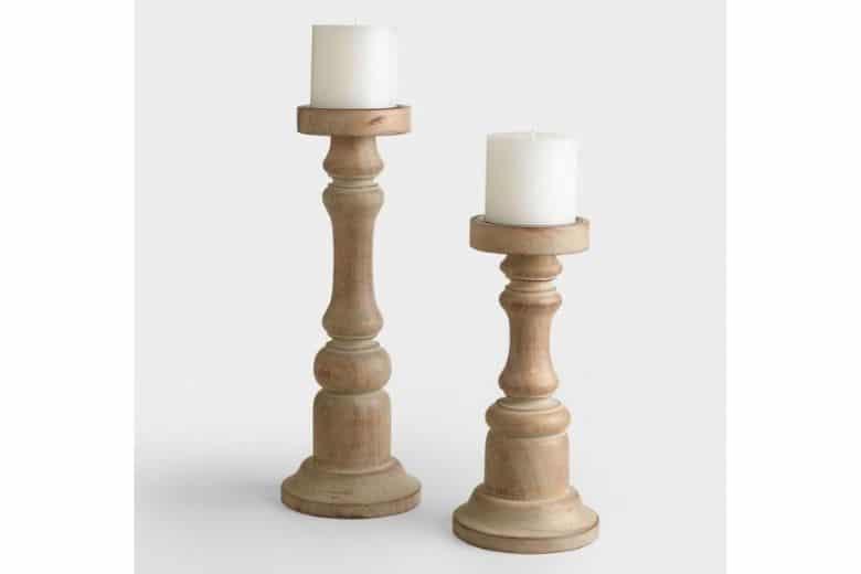 Woodturned Candlesticks