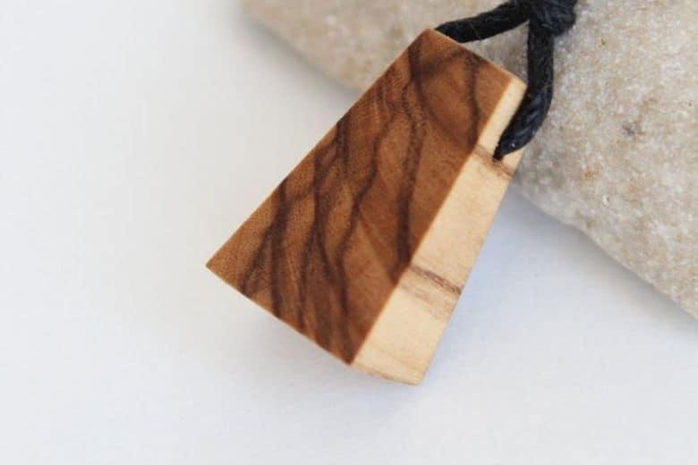 Woodturned jewelry